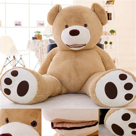 big teddy 200cm new teddy skin luxury plush large