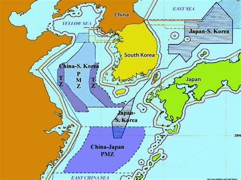 china korea japan china korea tzs pmzs the south china sea