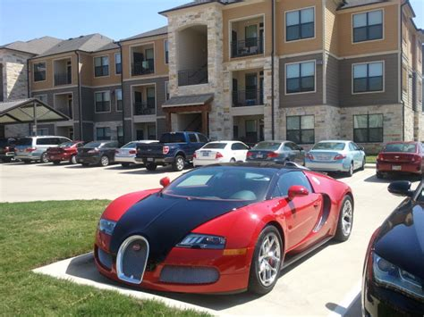 who has a bugatti veyron ask a who has a bugatti veyron parked out front of his
