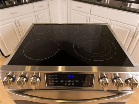 Flat Cooktop Flat Surface Stove Whirlpool Gold Smooth Surface Electric
