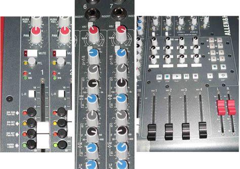 Mixer Allen Heath Zed R16 allen heath zed r16 image 84783 audiofanzine