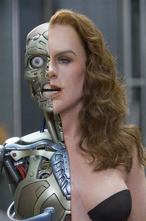 film female robot surrogates 2009 preview sci fi movie page
