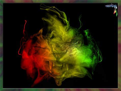 A Place Reggae Version Wallpaper Reggae Rasta Smoke