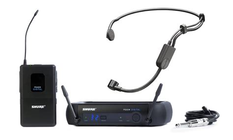 Mic Wireless Shure Pgx 228 Clip On Headset shure pgxd14 pga31 headworn wireless microphone system