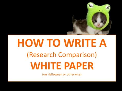 how to write a comparative research paper writing research comparison white papers