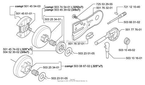 husqvarna 55 rancher parts diagram husqvarna 55 rancher epa 2006 02 parts diagram for
