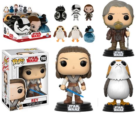 Original Funko Pop Au Naturale all the glorious new wars the last jedi toys