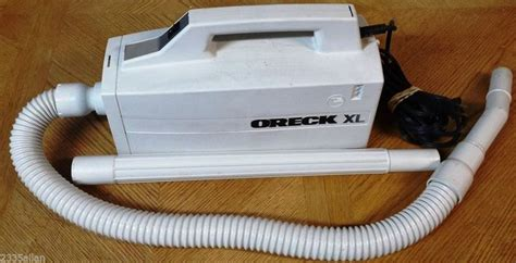 oreck xl hand held canister vacuum cleaner model bb aw