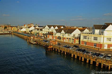 cruises uk virtual tour of cruise port southton uk