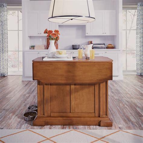 americana kitchen island distressed oak finish home styles