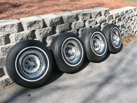 20 Rally Wheels Truck 4 15x8 Chevy Gmc Truck Rally Wheels With New Whitewall