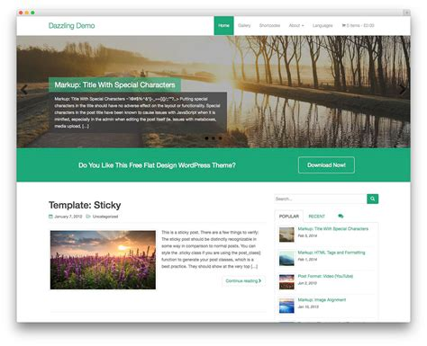 wordpress themes art gallery free 32 free wordpress themes for effective content marketing