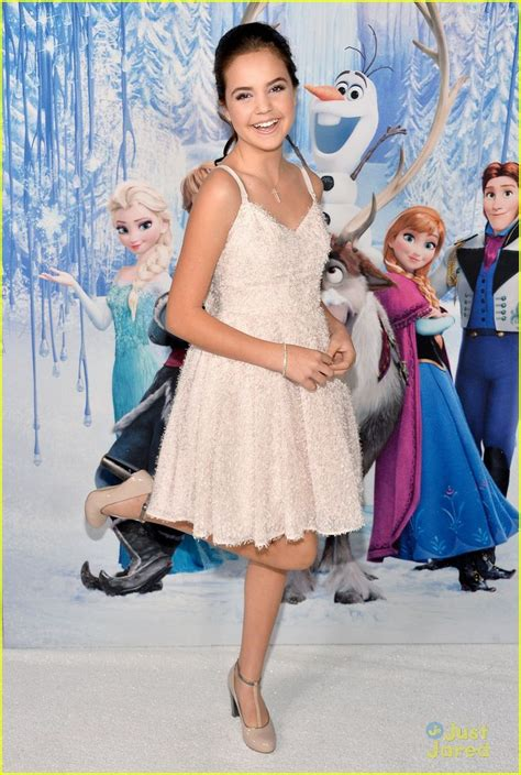 frozen film premiere bailee madison frozen hollywood premiere bailee