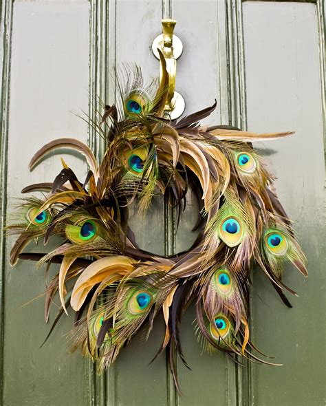 awesome peacock feather wreath decorating ideas gallery in altogether christmas decorating christmas wreaths
