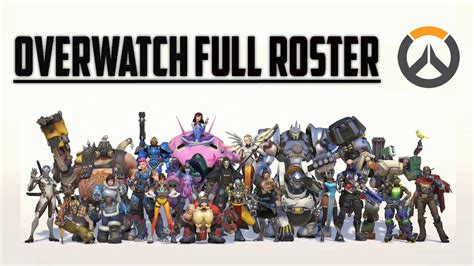 image gallery overwatch all characters
