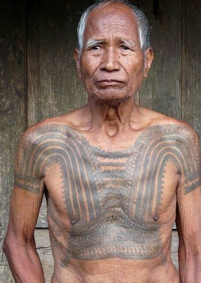 tribal tattoo kalinga kalinga with batek tribal tattoos in the philippines