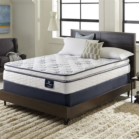 full size bed mattress set serta perfect sleeper ventilation pillowtop full size