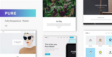 wordpress theme center layout pure minimal portfolio wordpress theme portfolio