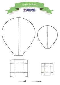 air balloon templates free 25 best ideas about air balloon on balloon