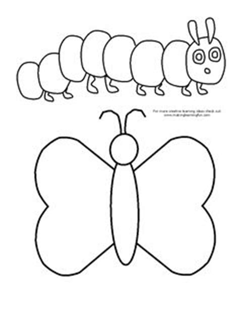 caterpillar outline template caterpillar pattern use the printable outline for crafts