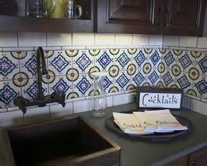 mexican tile backsplash kitchen mexican tile backsplash new home ideas
