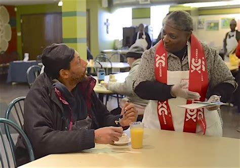 Soup Kitchen For The Poor by Soup Kitchen Disguised As Cafe Offers Side Of Dignity To