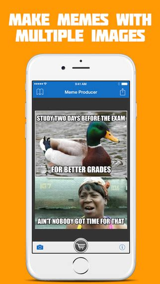 Meme Maker Iphone - meme producer free meme maker generator on the app store
