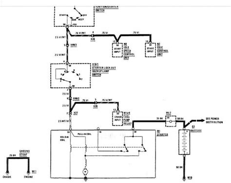350 chevy starter motor wiring diagram circuit and