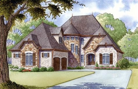 french country cottage floor plans new french country house plan family home plans blog