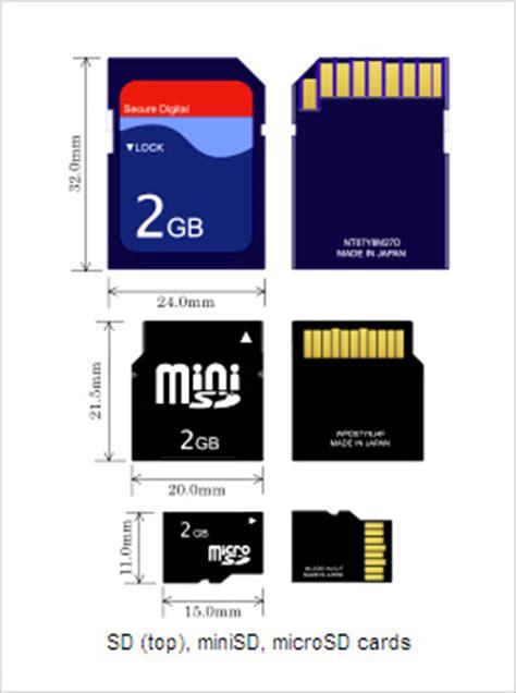 Memory Micro Sd V sd vs sdhc memory card difference
