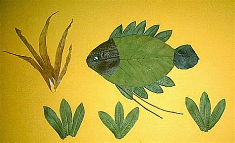 Membuat Kolase Dari Daun Kering | prakarya dari daun kering untuk siswa sd