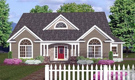 Cottage Delight Hers by House Plan Chp 35772 At Coolhouseplans