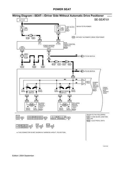 service manuals schematics 2007 nissan murano security system murano has a alternator connector with 3 pins inside nissan wiring throughout diagram blurts me