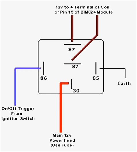 diagram 12v pin relay wiring bosch amazing picture ideas