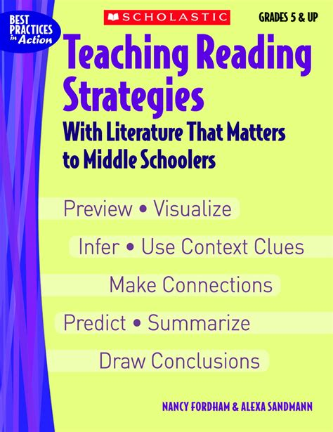 teaching reading strategies with picture books essay writing for middle schoolers 187 one writer s