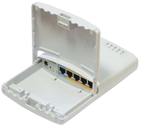 Paket Poe 8 Ports Power Supply 24v 5a 1 mikrotik routerboard powerbox rb 750p pb rb750p pb 5 port