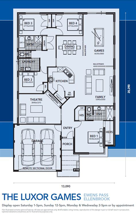 Marina Promenade Floor Plans by The Luxor Games Affordable Living Homes