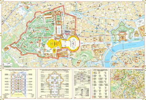 five themes of geography vatican city vatican area map