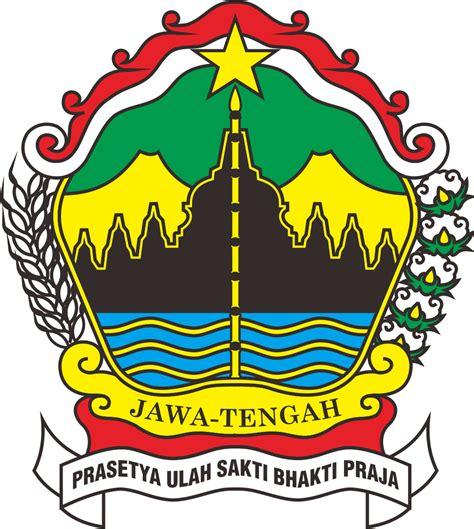 Republik Indonesia Propinsi Djawa Tengah lambang kabupaten dan kotamadya propinsi jawa tengah