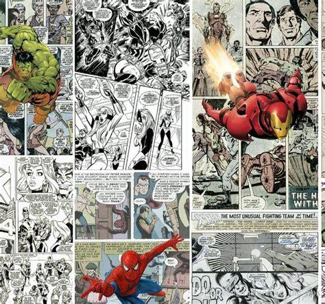 comic book wallpaper for bedroom marvel comics wallpaper wall mural 3d wallpaper for walls