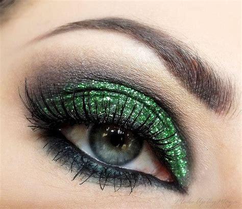 Eyeshadow Green green wedding green glitter eyeshadow 2033206 weddbook