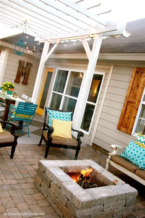 amazing  diy pergola  fire pit ideas crafts