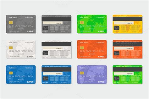 credit card graphic template back of blank credit card template 187 designtube creative