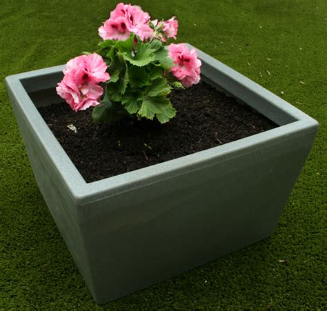 Purple Planter by Ecosure Blooming Marvelous Meldreth Purple Large Planter