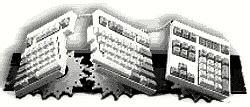 fentek comfort keyboard system comfort usb90blk ergonomic keyboard system usb9 0blk