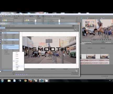 sony vegas pro transition tutorial sony vegas pro tutorial zoom transition all