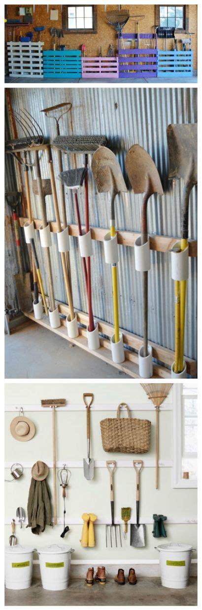 11 garden tool racks you can easily make organizing