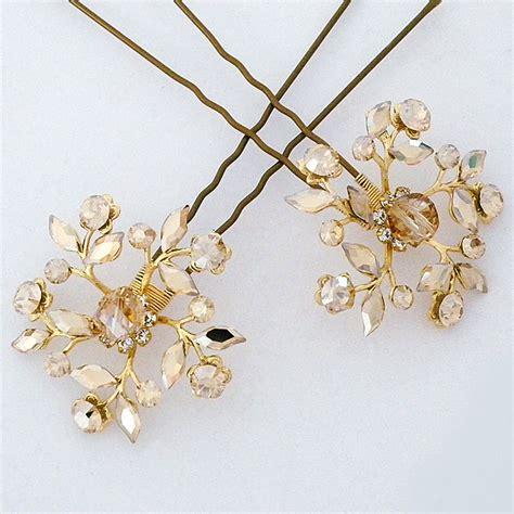 Wedding Hair Accessories Chagne by Wedding Hair Pins Bridal Hair Pins Wedding Hair