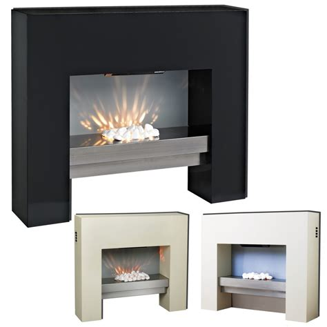 free standing electric mdf surround fireplace with flicker living choose your colour