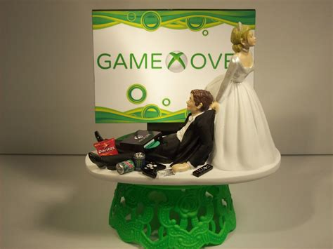 Wedding Cake Xbox by And Groom Xbox Wedding Cake By Mikeg1968